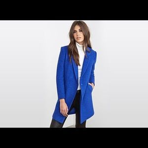 Forever 21 premium label blue coat